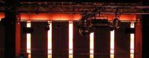 Les peintres–lumière du service électrique des théâtres d'opéra