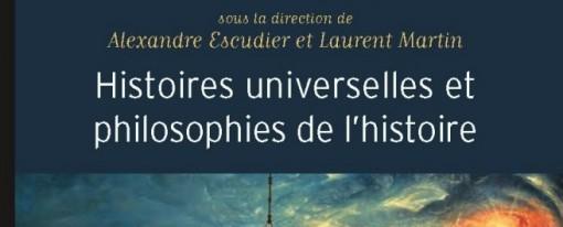 Recension – Histoires universelles et philosophies de l'histoire
