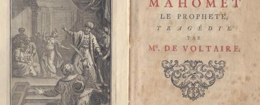 Recension – Les textes de Voltaire sur l'Islam