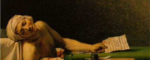 La Mort de Marat de Jacques-Louis David