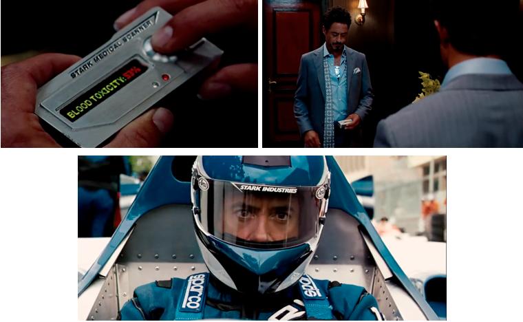 Se sachant condamné, Tony Stark remplace, sur un coup de tête, le pilote de sa voiture de Formule 1 et participe ainsi au Grand Prix de Monaco. Ceci témoigne de son agitation intérieure le poussant à commettre des actions totalement impromptues et inconsidérées. Une fois de plus, son masque de playboy excentrique prend le dessus sur le souci moral de soi et des autres.