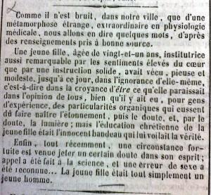 L'écho rochelais, juillet 1860. © SF – Archives départementales de la Charente-Maritime
