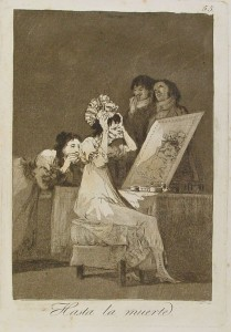 Hasta la Muerte - F. de Goya. Source Wikipédia