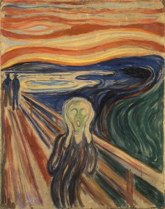 Le cri, Edvard Munch, © Google Art Project – Wikimedia Commons