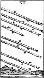 [Figure 6 : 8 de Bâtons – Rider-Waite, U.S. Games, 1971]