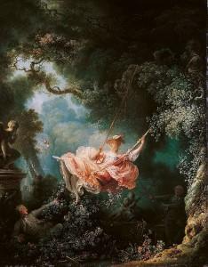 Fragonard - Les Hasards heureux de l'escarpolette,