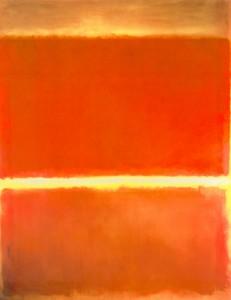 """Planche 1  Rothko """"SAFFRON"""" 1957"""