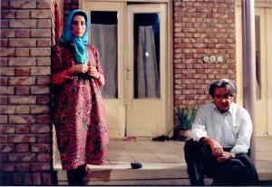 Une scène du film Foulard Bleu de Rakhshan Bani Etemad, Photographe: Mitra Mahaseni