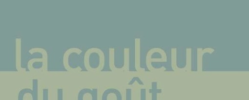 Recension – La couleur du goût, de Laurent Jaffro